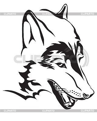 Wolf head | Stock Vector Graphics |ID 3189088