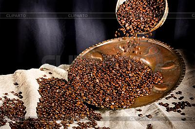 Ziarna kawy | Foto stockowe wysokiej rozdzielczości |ID 3091039