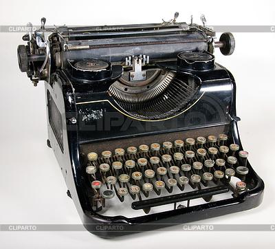 Die Schreibmaschine | Foto mit hoher Auflösung |ID 3216937