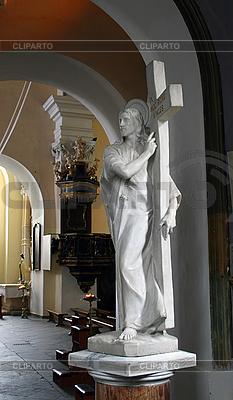 Rzeźba Jezusa Chrystusa | Foto stockowe wysokiej rozdzielczości |ID 3090318