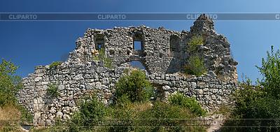 Zerstörte alte Festung in Krim | Foto mit hoher Auflösung |ID 3092520