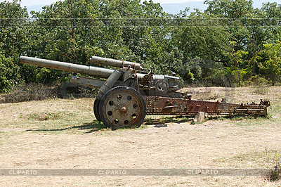 Artillerie-Geschütz | Foto mit hoher Auflösung |ID 3093658