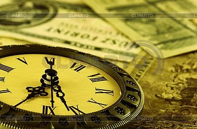 Konzept Zeit ist Geld   Foto mit hoher Auflösung  ID 3091543