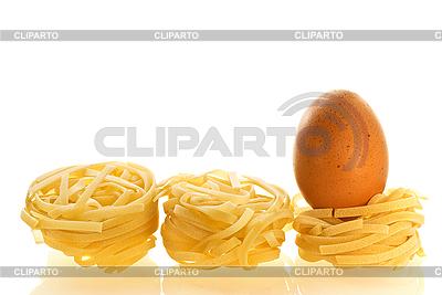 Ei als Zutat von Pasta | Foto mit hoher Auflösung |ID 3091616