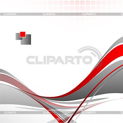 抽象的波浪线 | 向量插图 |ID 3095057