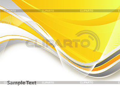 抽象的波浪线 | 向量插图 |ID 3095329