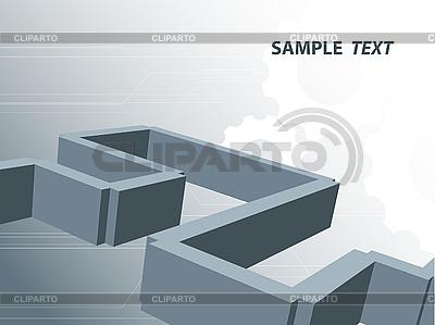 Konstrukcja z zębatką | Klipart wektorowy |ID 3096443