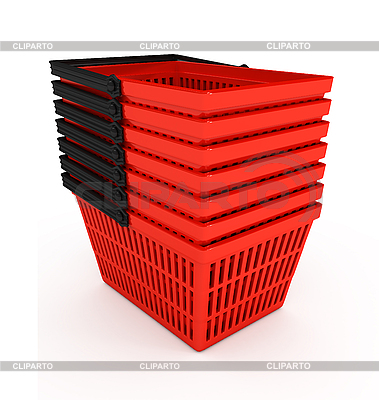 Shopping baskets | High resolution stock illustration |ID 3091954