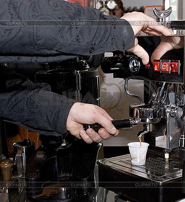 Автомат для приготовления кофе | Фото большого размера |ID 3098810