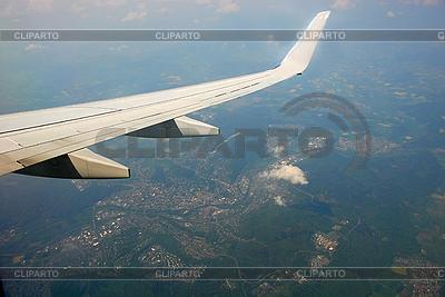 Blick aus dem Flugzeug | Foto mit hoher Auflösung |ID 3119946