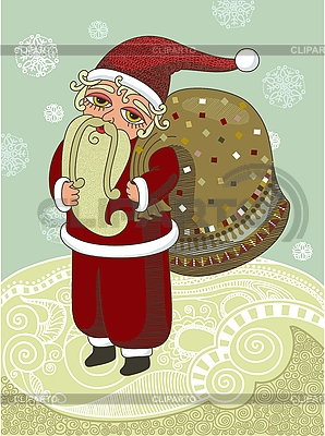 Santa Claus | Stock Vektorgrafik |ID 3093044