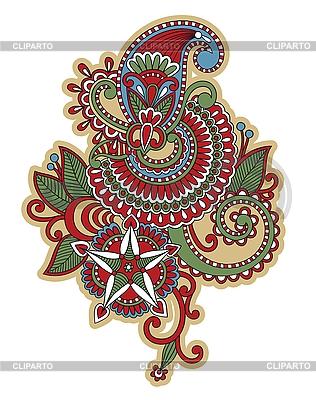 Kunstvolles Blumen-Design | Stock Vektorgrafik |ID 3094709