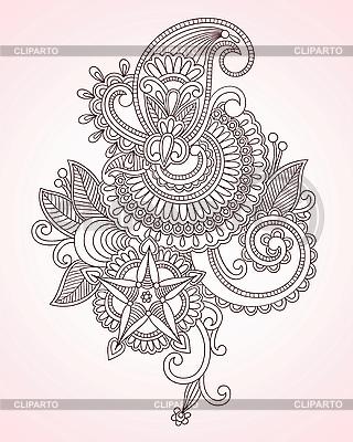 꽃 디자인 요소 | 벡터 클립 아트 |ID 3094725