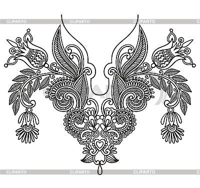Stickereimuster | Stock Vektorgrafik |ID 3094743