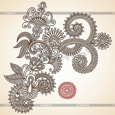 꽃 디자인 요소 | 벡터 클립 아트 |ID 3094810