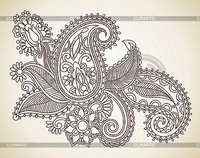 Flower Design Element | Stock Vector Graphics |ID 3095612