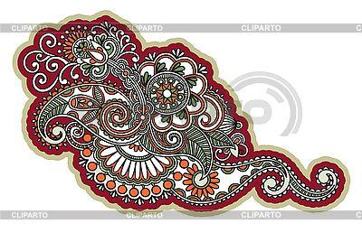 꽃 디자인 요소 | 벡터 클립 아트 |ID 3096833