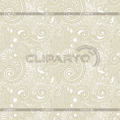 Seamless artistic flower pattern | Stock Vector Graphics |ID 3097395
