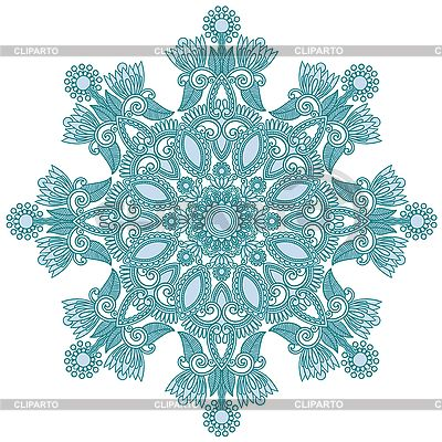 Ornate snowflake | Stock Vector Graphics |ID 3100145
