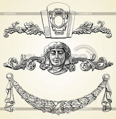Bas-reliefs | Stock Vector Graphics |ID 3100187
