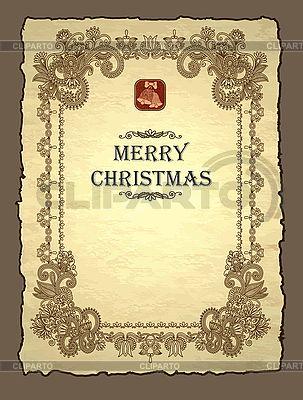 Weihnachts-Einladung | Stock Vektorgrafik |ID 3101629