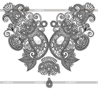 화려한 꽃 디자인 | 벡터 클립 아트 |ID 3101768