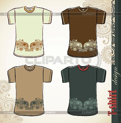 T-shirt flower design templates   Stock Vector Graphics  ID 3101800