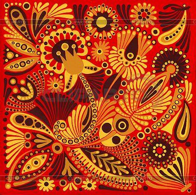 Acrylic painting flower design | Stock Photos and Vektor EPS ...