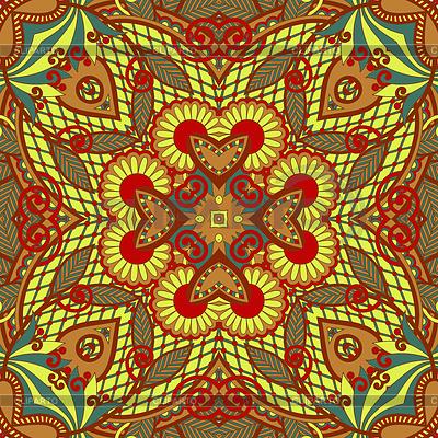 원래 레트로 페이즐리 원활한 패턴 | 벡터 클립 아트 |ID 3295535