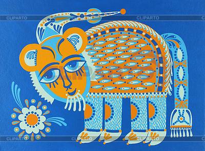 Fantastyczny zwierząt | Stockowa ilustracja wysokiej rozdzielczości |ID 3295552