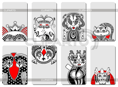 Doodle fantasy monster personage | Stock Vector Graphics |ID 3372522