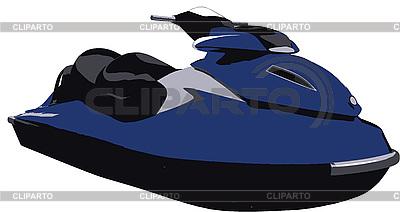 Wasserscooter | Stock Vektorgrafik |ID 3094025