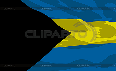 Flaga Bahamów | Klipart wektorowy |ID 3094103