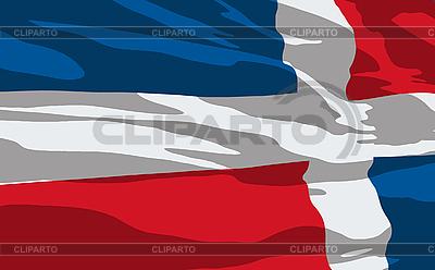 Flag of Dominican Republic | Stock Vector Graphics |ID 3094133
