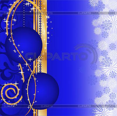 Blue Christmas Balls   Stock Vector Graphics  ID 3099645