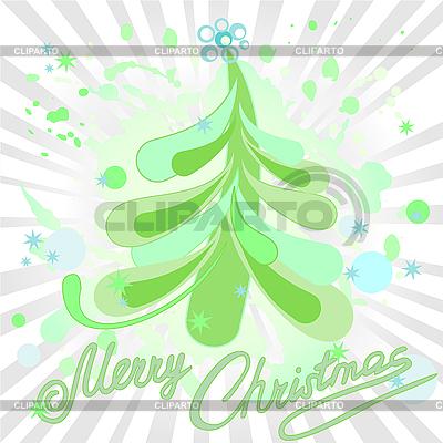 Green Christmas tree | Stock Vector Graphics |ID 3101970