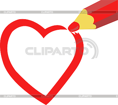 Painted heart | Stock Vector Graphics |ID 3108522