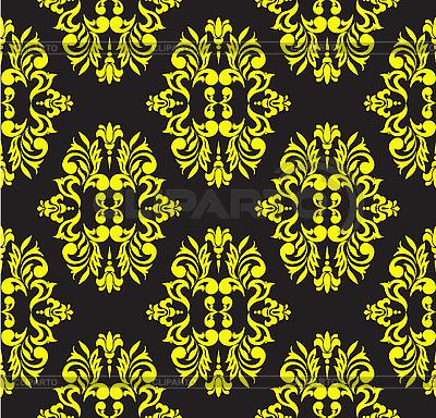 Gelbes nahtloses florales Muster | Stock Vektorgrafik |ID 3133578