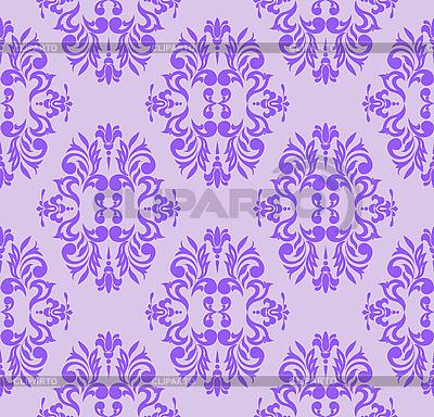 Lila nahtloses florales Muster | Stock Vektorgrafik |ID 3133582