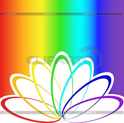 Regenbogen-Hintergrund | Stock Vektorgrafik |ID 3197835