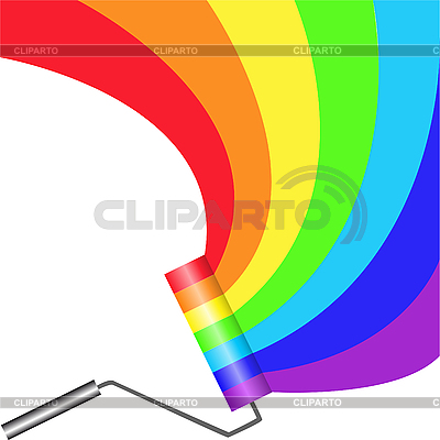 farbroller stock fotos und vektorgrafiken cliparto. Black Bedroom Furniture Sets. Home Design Ideas