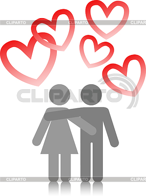 Couple in love | Stock Vector Graphics |ID 3324287