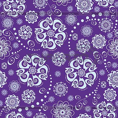 Florales orientalisches nahtloses Pattern | Stock Vektorgrafik |ID 3124422