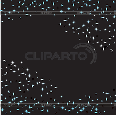 Black background with blue stars | Stock Vector Graphics |ID 3103136