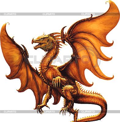 Flying dragon | Stock Vector Graphics |ID 3146832
