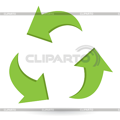 Green arrows | Stock Vector Graphics |ID 3095905