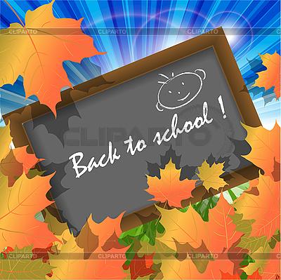 Zurück zu Schule | Stock Vektorgrafik |ID 3095913