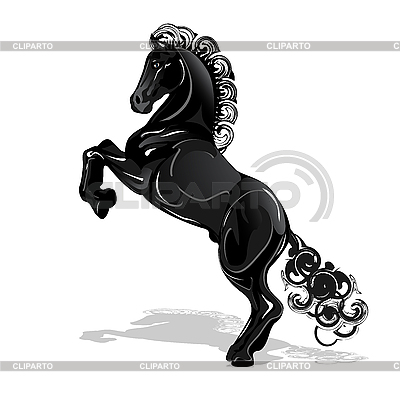 Black Horse | Stock Vector Graphics |ID 3095981