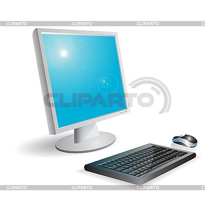 Komputer | Klipart wektorowy |ID 3096196