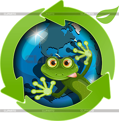 Frog | Stock Vector Graphics |ID 3097007